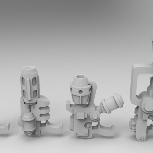 Descargar Modelos 3D para imprimir gratis Antiguo Ejército Interestelar y Aparatos de Cocina Jarhead, Mkhand_Industries