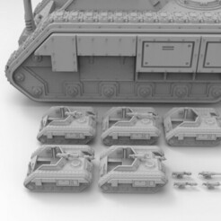 Chimera Chassis.419.jpg Download free STL file Epic Scale Scout Tank • 3D printable template, Mkhand_Industries