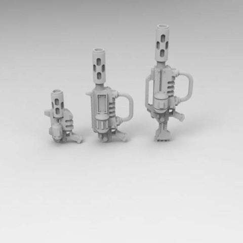 Descargar modelo 3D gratis Hornos de Microondas Portátiles del Ejército Interestelar y Jarhead, Mkhand_Industries