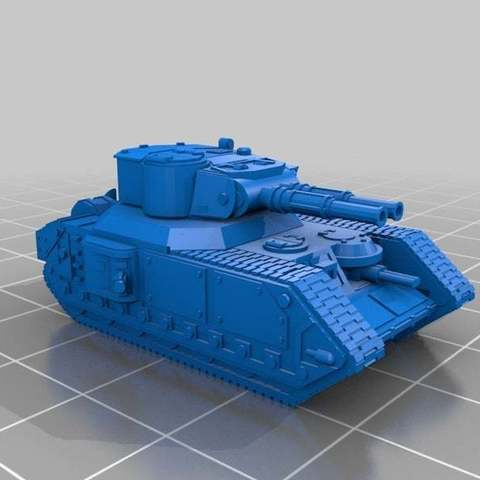Descargar diseños 3D gratis Escala épica Macharius v3.5, Mkhand_Industries