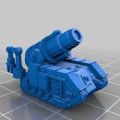 Download free 3D printer templates Epic Scale Bombard SPGs, Mkhand_Industries