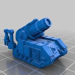Imprimir en 3D gratis Escala épica Bombard SPGs, Mkhand_Industries