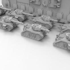 Descargar archivos 3D gratis Escala épica Lemoine Russel Tanque de batalla principal, Mkhand_Industries