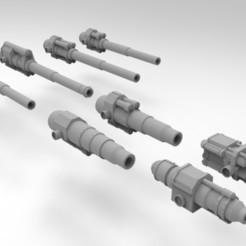 Descargar archivos 3D gratis Armas de artillería autopropulsadas del ejército interestelar, Mkhand_Industries