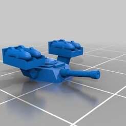 Descargar modelos 3D gratis Torretas Quimeras a escala épica, Mkhand_Industries