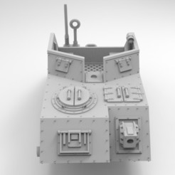 Descargar Modelos 3D para imprimir gratis Ejército Interestelar Scout Medio, Mkhand_Industries