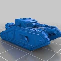 Descargar Modelos 3D para imprimir gratis Escala épica Malcador Annihilator v2, Mkhand_Industries