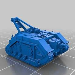Download free STL files Epic Scale Atlas Recovery Tank, Mkhand_Industries