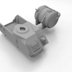 Descargar modelos 3D gratis Tanque de Llamas del Ejército Interestelar Medio, Mkhand_Industries