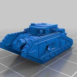 Download free 3D printer templates Epic Scale Malcador Defender v2, Mkhand_Industries