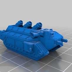 Descargar modelo 3D gratis Escala épica Dominus Bombard, Mkhand_Industries