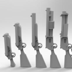 Descargar diseños 3D gratis Armas de Desperdicio del Ejército Interestelar, Mkhand_Industries