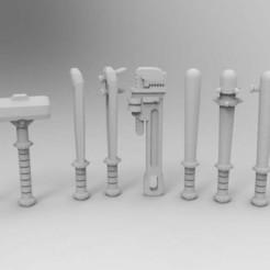 Descargar modelo 3D gratis Armas de Combate Cuerpo a Cuerpo de Marines Enfadados, Mkhand_Industries