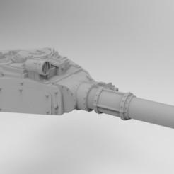 Descargar archivo 3D gratis Complemento de torreta de tanque del Ejército Interestelar - Cañón de combate con patrón Ryza, Mkhand_Industries