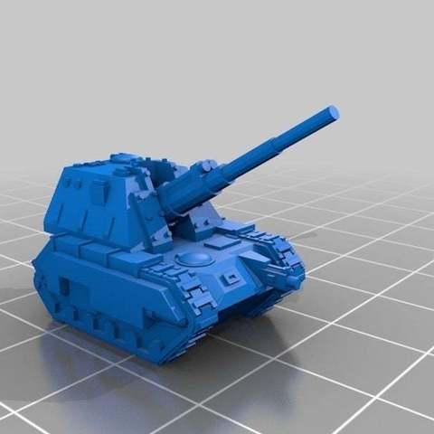 Descargar diseños 3D gratis Patrón épico de Armagedón Basilisco SPG, Mkhand_Industries