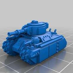 Download free 3D printing designs Epic Scale Ragnarok Heavy Tank, Mkhand_Industries