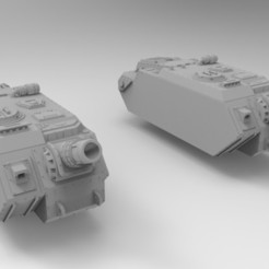Descargar modelo 3D gratis Ejército Interestelar Lemoine Russel Donnerer, Mkhand_Industries