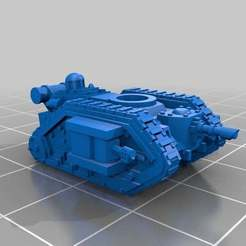 Download free 3D printer designs Epic Scale Alternate Leman Russ Bodies, Mkhand_Industries