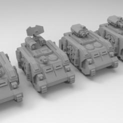 Descargar STL gratis Escala épica Deimos Patrón Transportes blindados, Mkhand_Industries