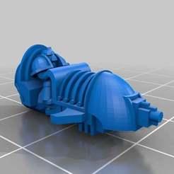 Descargar modelo 3D gratis Escala épica Scimitar Jetbike, Mkhand_Industries