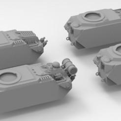 Descargar diseños 3D gratis Cuerpos de tanques del Ejército Interestelar Lemoine Russel, Mkhand_Industries