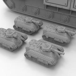 Imprimir en 3D gratis Vehículo de combate de infantería a escala épica, Mkhand_Industries