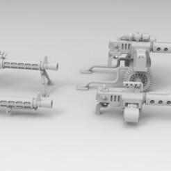Descargar Modelos 3D para imprimir gratis Grapadoras pesadas para cultivos interestelares, Mkhand_Industries
