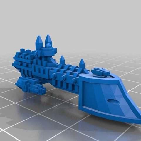 Descargar modelo 3D gratis Fragatas Imperiales v4, Mkhand_Industries