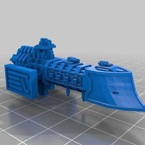 Descargar STL gratis Imperial Light Cruisers v2, Mkhand_Industries
