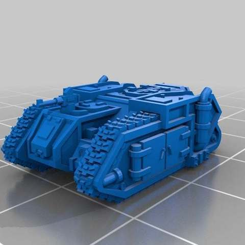 Descargar modelos 3D gratis Escala épica Aurox Transporte blindado, Mkhand_Industries