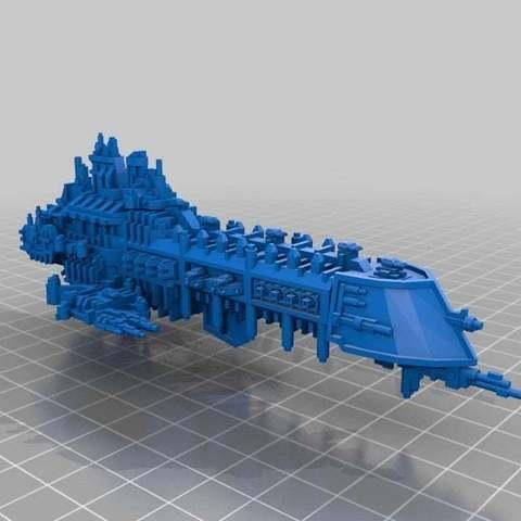 Descargar archivos STL gratis Acorazados Imperiales 2.0, Mkhand_Industries