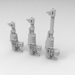Download free 3D printer model Interstellar Army Kalashnikov Office Supplies, Mkhand_Industries