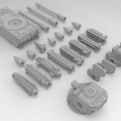 Impresiones 3D gratis La Artillería Antiaérea del Ejército Interestelar, Mkhand_Industries