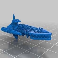 Descargar modelo 3D gratis Barcos que atacan el caos, Mkhand_Industries