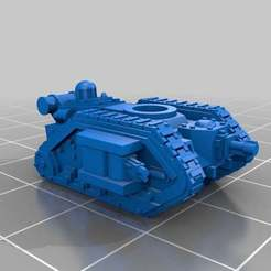 Free 3D printer designs Epic Scale Alpha Pattern Leman Russ v2, Mkhand_Industries