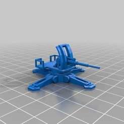 Descargar archivos STL gratis Plataformas de armas de escala épica, Mkhand_Industries