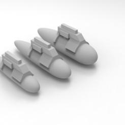 Descargar archivos 3D gratis Aeronáutica Imperialis Imperialis Navy Bits, Mkhand_Industries