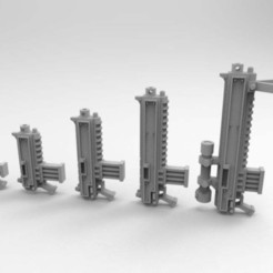 Download free 3D printing templates Interstellar Jarhead Small Arms, Mkhand_Industries
