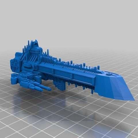 Descargar Modelos 3D para imprimir gratis Los acorazados imperiales, Mkhand_Industries