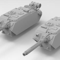 Keyshot Russes.314.jpg Télécharger fichier STL gratuit Armée Interstellaire Lemoine Russel Zerstörer • Plan pour imprimante 3D, Mkhand_Industries