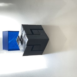 Download 3D model The 3x3 cube puzzle , bycoloitu