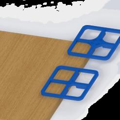 PLANTILLA REDONDEADA.png Télécharger fichier STL Modèle de coin arrondi. - Modèle à coins arrondis. • Modèle à imprimer en 3D, kazumi