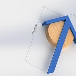BUSCADOR DE CENTRO.jpg Télécharger fichier STL Machine d'équarrissage de charpenterie à cylindre central • Objet pour impression 3D, kazumi