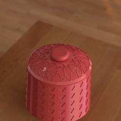 ALAJERO1 C.JPG Télécharger fichier STL boîte à bijoux cadeau d'anniversaire décoration compartiment secret - boîte à bijoux cadeau d'anniversaire décoration compartiment secret • Design pour imprimante 3D, kazumi