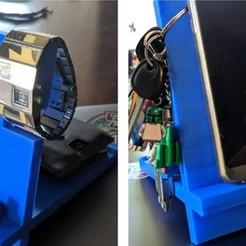 Fichier 3D porte-téléphone portable multi-usages, 3dinnsprinting