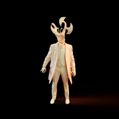 Rendu0000.png Download STL file Parasyte • 3D printer model, Nousagi