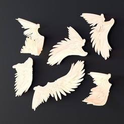 1.jpg Télécharger fichier STL Wings • Plan pour impression 3D, Nousagi