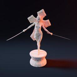 1.jpg Télécharger fichier STL La tueuse de l'eglise de la nuit • Modèle à imprimer en 3D, Nousagi
