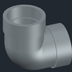 Download STL file Elbow pipe , coman_daniela_simona