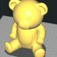 osito.jpg Download STL file TEDDY BEAR RANGE • Design to 3D print, herquin754